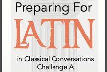Latin / Learning with fun
