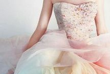 Colored Weddding Dresses