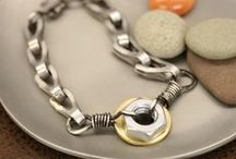 Hardware Jewelry / Cool things to make with items from your local hardware store.
