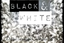 BLACK & WHITE (2014) / BLACK & WHITE (2014) Collection of 6 Digital Painting © 2014 - Simone Morana Cyla
