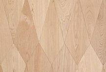 bois + wood + repérages / matière sensuelle, par excellence et sans limite de créativité.
