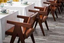 cafés, restaurants, bars + repérages / Pour des espaces uniques et différents, Repérages accompagne les professionnels dans leurs choix de mobiliers et luminaires.  email : contact@reperages-design.com - site internet : wwww.reperages-design.com