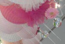 Mariage C & P / Couleurs : Fuchsia, Rose pastel