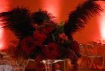 Mariage S & Al / Thème : French Can-can / Cabaret Décor réalisé par : Nuits Célestes Mariage Wedding Planner & Décorateur Bordeaux et Périgueux