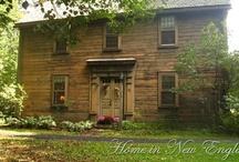 New England Homes / Love the Old Historical Homes