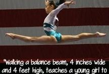 Gymnastics / My second life! / by A . M