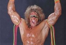The Ultimate Warrior / WWE Hall of Famer the late Ultimate Warrior