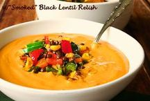 Soups For The Soul / raw and plant-based soups