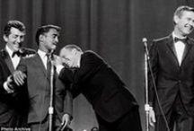 rat pack / Dean Martin,Sammy Davis Jr,Frank Sinatra,Peter Lawford and Joey Bishop...(Dino's my fav..u can probably tell) / by Damon (jonnyace)
