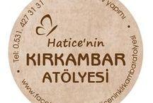 Hatice'nin Kırkambar Atölyesi (el işi-ev yapımı) / Yaptığım,pişirdiğim her şey