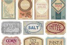 Free Printables & Labels