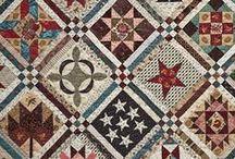 Civil War, Historic Reproduction & Prim Quilts