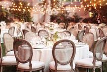 Wedding Decor / Inspiration for wedding decorations for the ceremony, reception, and everything in between.