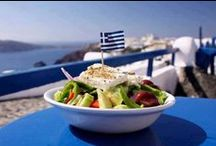 MY BIG FAT GREEK  RECIPES / Actually,are not so big or fat! For real,Greek Kitchen is DELICIOUS!!! Is also so EASY to make and HEALTHY! OK,there's a little bit fat sometimes,but look at the french-Who hasn't?!?It also suits perfect for vegeterians.As for me,I prefer tasty but simple dishes with meat or not!Generally speaking,we take serious the Lemon(first)&the Vinegar(second).And don't forget:Greeks use Olive Oil...Just taste it!
