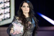 Paige / WWE Diva Paige - the first NXT Women's Champion and former Divas Champion.