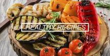 Easy Healthy Recipes / Amazingly easy and healthy food that tastes yummy! Enjoy these recipes that are as good for your body as they are delicious. #healthy #recipes #easy #cooking