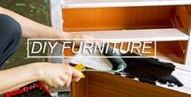 DIY Furniture Ideas / A place where you can find lots of interesting and original ideas for upcycled furniture and home decoration you can do and make yourself!