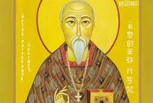 Orthodoxy is not only Greek! / Orthodoxy is not only Greek!It is for everyone around the World!Here,among others,are some Saints who were Scotish,Irish,Brasilians,Japaneses...