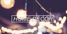 Home Decorating Ideas / A place where you can get inspiration and ideas to decorate your home!