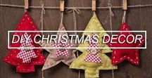 DIY Christmas Decor / If you want to have a sustainable Christmas and lots of fun, take a look at these crafts you can make for Christmas.
