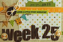 Project Life (Pocket Scrapbooking) / A collection of Project Life and other pocket scrapbooking layouts and ideas.