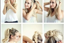Hair Styling Tips & Trends / Hair styles, how-tos, tips, and trends.