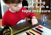 Preschool thru Kindergarten Math Activities at Home / See fun #preschool thru #kindergarten #math #activities you can do at home.