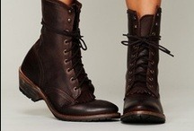 Boot Straps / All types of women's boots: Riding, chuka, lace ups, stilettos, knee highs, over-the-knee, motorcycle, etc
