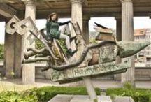 Museumsinsel Berlin / Wir waren mit dem Fotografen Mattis Rütten rund um die alte Nationalgalerie unterwegs.