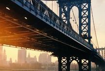 N.Y.C ♥ / Money can't buy you happiness, but it can pay for a holiday in New York... which is almost the same thing.