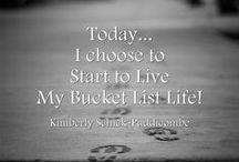 Bucket List - To Do!
