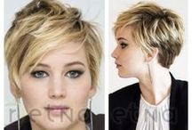 Short and sexy**Pixie/ short haircuts** / Short hair is sexy and fun! Wear it tousled, straight or curly.