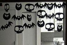 Halloween / Halloween / papertoys / décoration / DIY