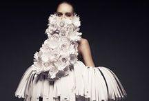 Habits de papier / Fashion paper / Le papier dans la mode