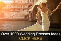 Wedding Dresses / Different types of wedding dresses:Sweetheart, Straight, Off-shoulder, Halter Strap, High Neck, Sabrina, Jewel, Scoop, V-neck, Spaghetti Strap, Asymetric, Queen Anne, Bateau, Square, Halter, Illusion, Cowl and Grecian dress.