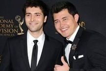 PaulSon ❤️ / Freddie Smith aka Sonny Kiriakis & Christopher Sean aka Paul Narita (Days of our Lives)