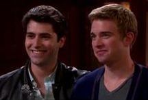 WilSon ❤️ / Freddie Smith aka Sonny Kiriakis, Chandler Massey aka Will Horton and Guy Wilson aka Will Horton