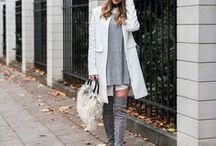 over the knee boots / outfit & street style inspiration