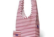 Striped Bags & Totes / Show off your love of stripes by sporting striped bags! Head to the market, pack for vacation, or get organized for school in striped style.