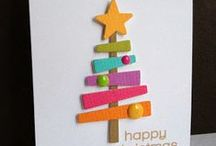 Cards - XChristmas - Modern Colours Themes etc / by TAD