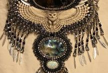 Examples of My Jewelry. / Just a place to show the work I've done using beads, wire, polymer clay, and metal clay.