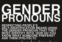 LGBTQIA+ / Gender and Sexuality Information