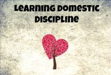 Domestic Discipline / Information about Domestic Discipline (Sometimes called Christian Domestic Discipline, CDD)