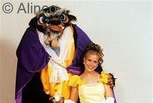 Halloween / Alinco Stock Halloween Mascots