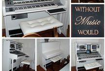 Studio / Alles wat te maken heeft met muziek en studio's