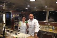 Two Chefs Culinary Cruise / Highlights from Culinary Tour of the Mediterranean from Istanbul to Athens - with Amy Riolo and Luigi Diotaiuti http://www.amyriolo.com       http://www.altiramisu.com/about-the-chef/ #twochefsculinarycruise October 19 - 29, 2014 #Istanbul #Athens #Kavala #Mykonos #Rhodes #Ephesus #Santorini