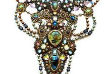 Bead Artistry / A board to collect inspiration for beadwork, polymer clay and metal clay creations.
