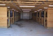 Horse Barns / Horse barns designed and constructed for horses, equipment for the horses, and anything else that a horse might need. All buildings were built by Pioneer Pole Buildings. Call 888-448-2505 for any questions.