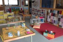 Reggio learning space and organization