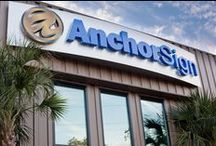 About Anchor Sign, Inc. / Anchor Sign is based in Charleston, SC and is the only sign company in America that manufactures, delivers and installs nationwide using our own crews.